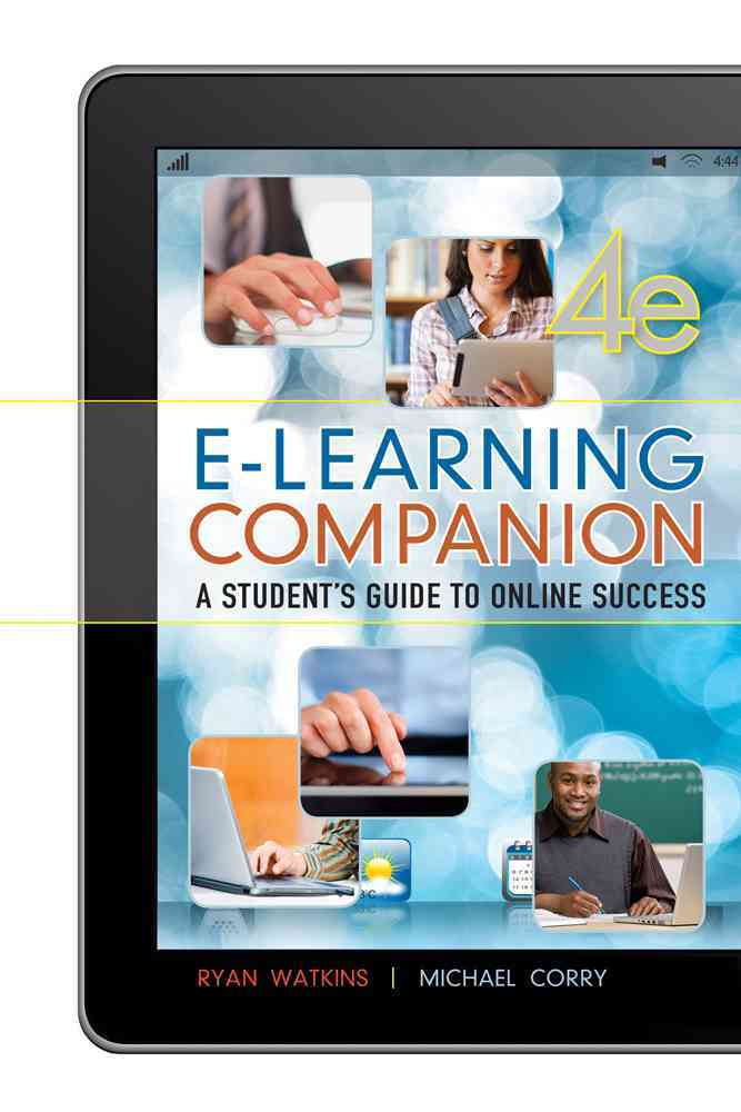 E-Learning Companion By Watkins, Ryan/ Corry, Michael